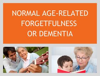 Normal Age-Related Forgetfulness or Dementia